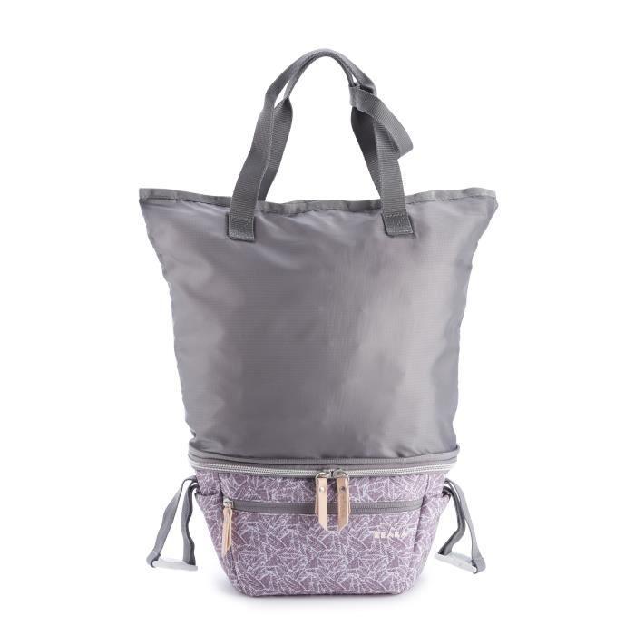 BEABA Sac Biarritz, Organisateur de Poussette, Tote bag, Compact, Grand espace stockage, Jungle