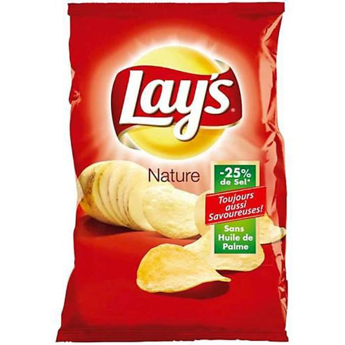 Lay's - Lay's Nature (15 paquets)