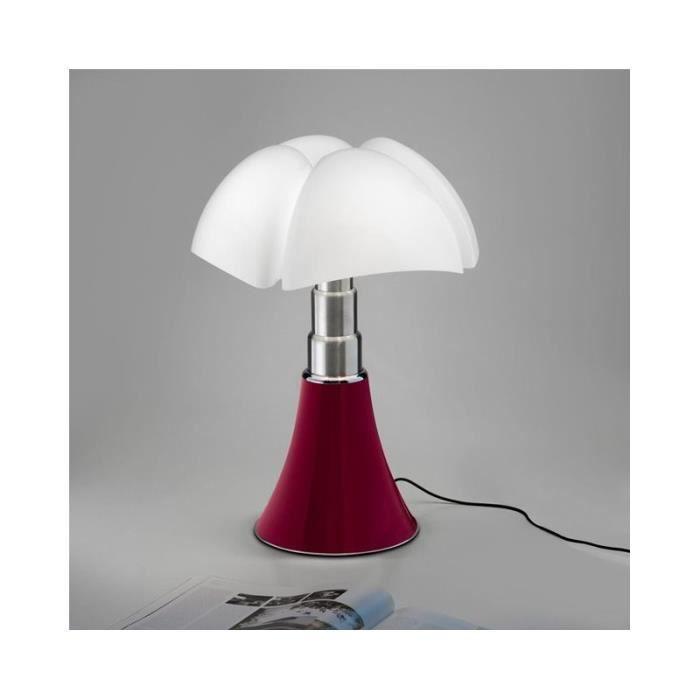 MINI PIPISTRELLO - Lampe Rouge LED H35cm