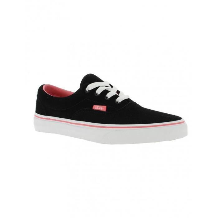 Chaussures Vans K Era Suede - Black / Stra