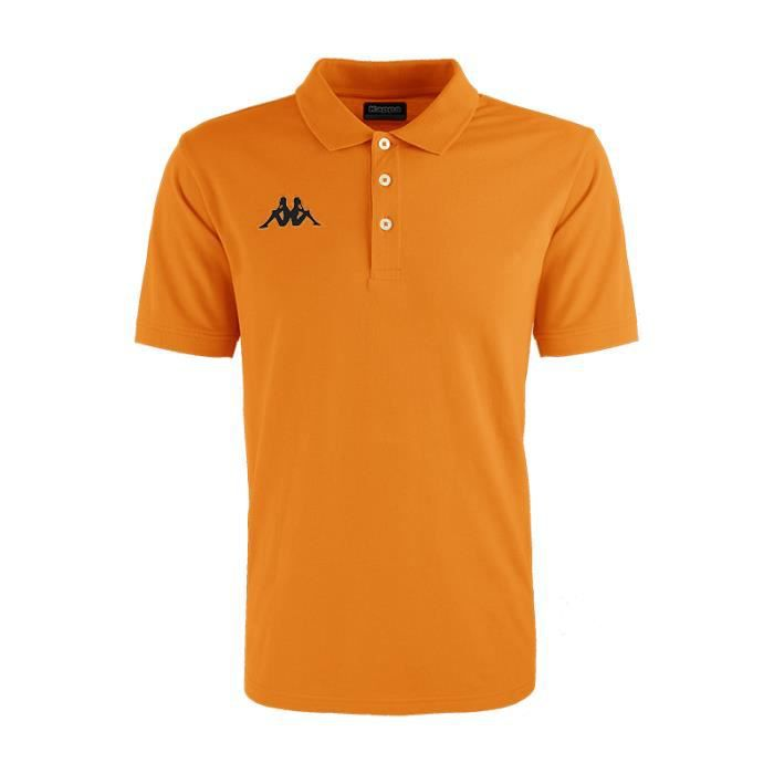 KAPPA - Enfant - Polo Lifestyle Peglio Orange 10Y
