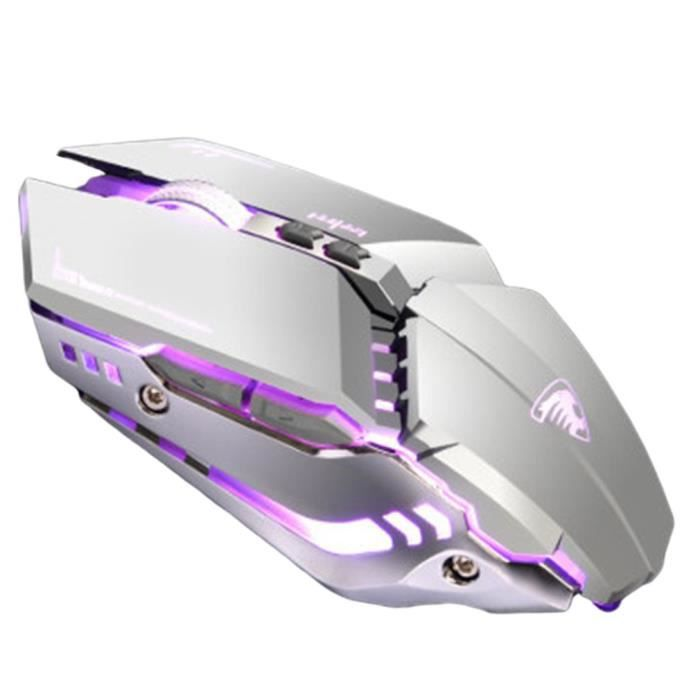 G9 E-Sports USB Cable Gaming Mouse 3200DPI Universal Macro Programming Gaming Mouse USB Wired Computer Gaming Mouse, Silver