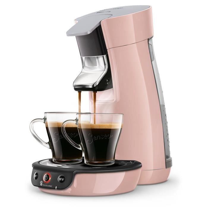 PHILIPS HD6563 / 31 SENSEO Viva - Machine à café à dosette - Rose poudré