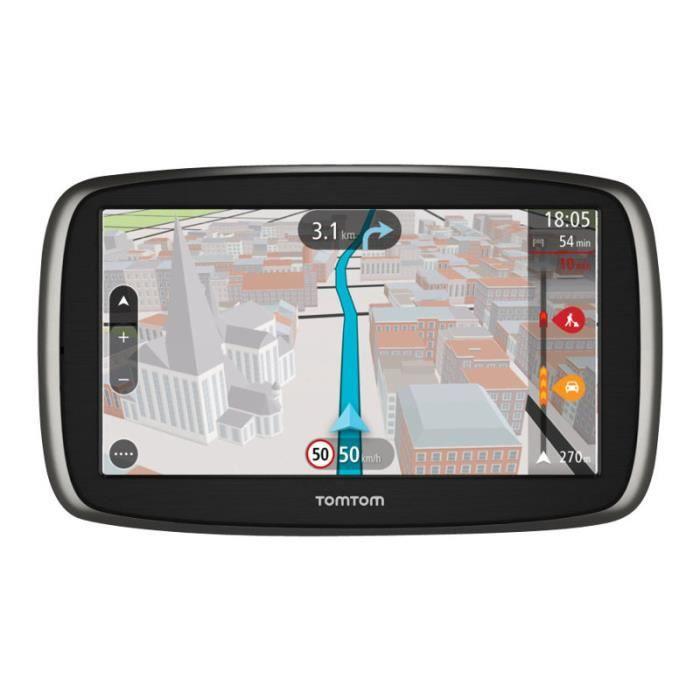 TomTom GO 61 Navigateur GPS automobile 6 po grand écran