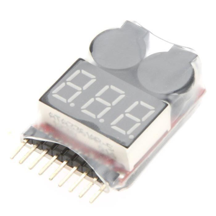 Low Voltage Buzzer Alarme 2-4 S pour Lipo Batterie RC