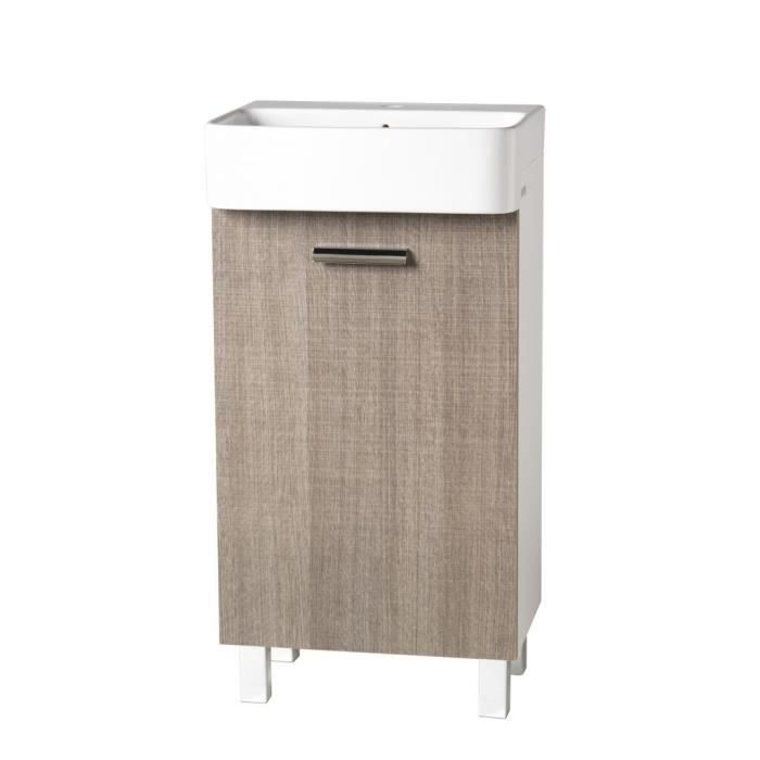 meuble petit lavabo couleur beige ouverture dro achat vente armoire de toilette meuble. Black Bedroom Furniture Sets. Home Design Ideas