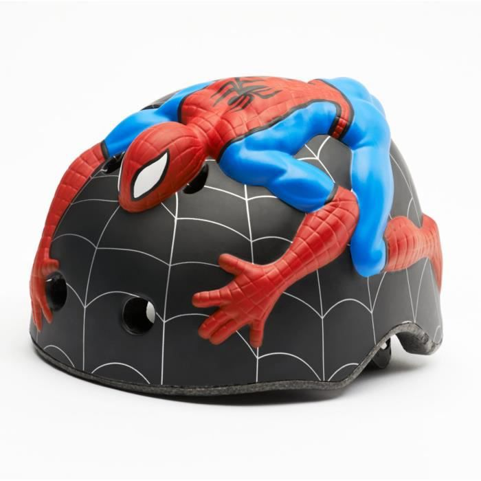 casque de v lo enfant spiderman marvel taille x prix. Black Bedroom Furniture Sets. Home Design Ideas