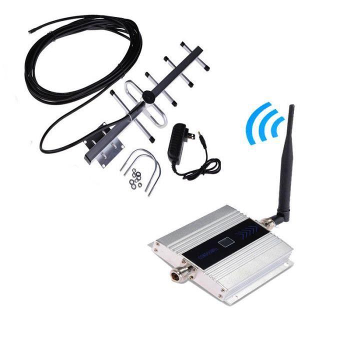 AMPLIFICATEUR DE SIGNAL Unny Répéteur Amplificateur GSM 900 MHz, Ampli Boo