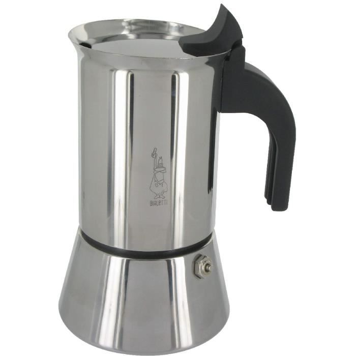 bialetti cafeti re inox 4 tasses venus induction achat vente cafeti re th i re cdiscount. Black Bedroom Furniture Sets. Home Design Ideas