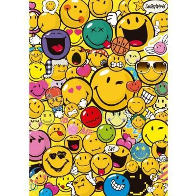 puzzle 500 pi ces smiley world achat vente puzzle cdiscount. Black Bedroom Furniture Sets. Home Design Ideas