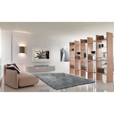 tapis shaggy gris taille 80 x 140 cm achat vente tapis cdiscount. Black Bedroom Furniture Sets. Home Design Ideas