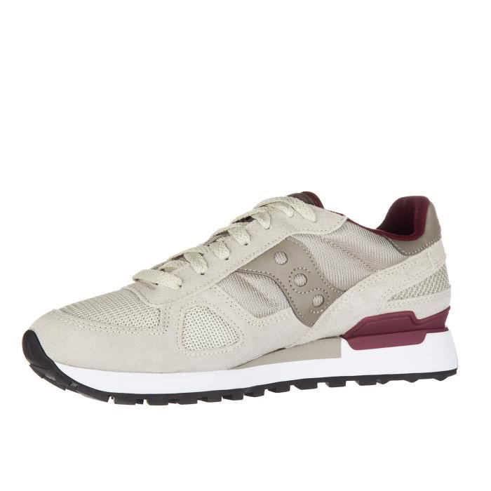 Chaussures baskets sneakers homme en daim shadow Saucony