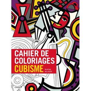 LIVRE LOISIRS CRÉATIFS Cahier de coloriages cubisme
