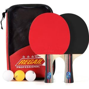 RAQUETTE TENNIS DE T. Set De Tennis De Table - 2 Raquette Ping Pong De P