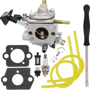 Carburateur pour Husqvarna 130BT Sac à dos souffleurs Carb Fuel Line Kit Avec Joint