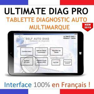 OUTIL DE DIAGNOSTIC ULTIMATE DIAG PRO - Valise Diagnostic + Tablette P