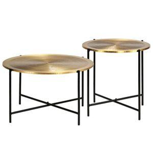 Table Basse Laiton Achat Vente Pas Cher
