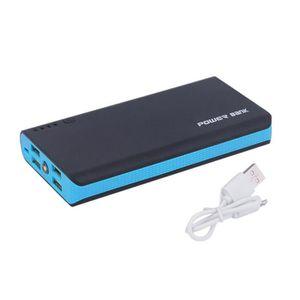 BATTERIE EXTERNE 50000MAH LED Chargeur de batterie externe 4 ports