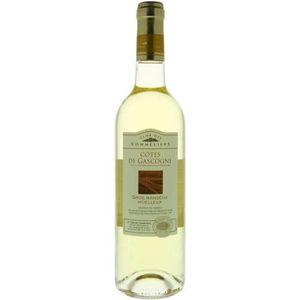 VIN BLANC Côtes de Gascogne Gros Manseng doux 2016 Vin du Su