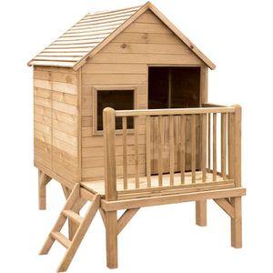 MAISONNETTE EXTÉRIEURE Cabane en bois pour enfant  WINNY
