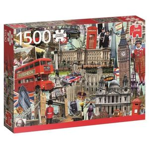 PUZZLE Puzzle 1500 Pièces - BEST OF LONDON - Jumbo