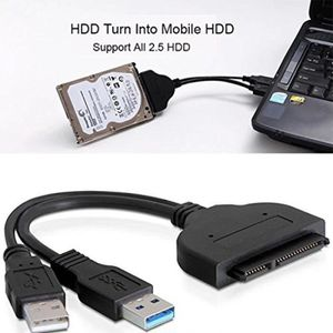 CÂBLE E-SATA Adaptateur USB 3.0 vers SATA, Câble USB 3.0 vers S