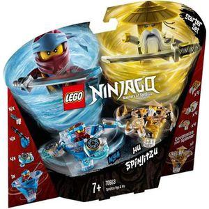 ASSEMBLAGE CONSTRUCTION Lego 70663 Toupies Spinjitzu Nya & Wu