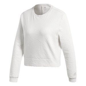 sweat adidas femme blanc