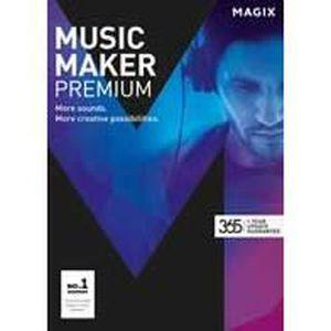 MULTIMÉDIA À TÉLÉCHARGER MAGIX Music Maker Premium 365