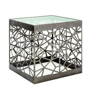 TABLE D'APPOINT Table d'appoint coloris bronze antique - Dim : L 5