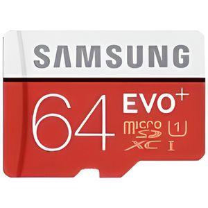CARTE MÉMOIRE SAMSUNG Carte mémoire micro SD Evo - 64 Go - avec