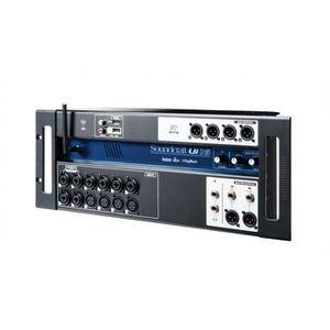 TABLE DE MIXAGE Soundcraft UI16 - Console numérique 16 voies contr