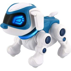 ROBOT - ANIMAL ANIMÉ SPLASH TOYS Teksta Puppy 360 Robot Chien interacti