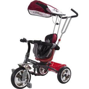 TRICYCLE Tricycle évolutif enfant Super Triker   Rouge.