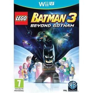 JEU WII U LEGO Batman 3: Beyond Gotham (Nintendo Wii U) [UK