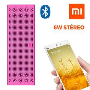 ENCEINTE NOMADE Enceinte Bluetooth Stéréo, Xiaomi [Aluminium 6W] -