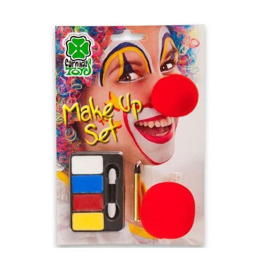 x4 Nez de clown en mousse
