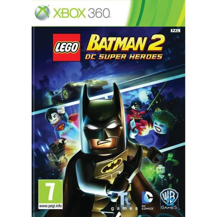 lego batman 2 jeu console xbox 360 achat vente jeu xbox 360 lego batman 2 jeu xbox 360. Black Bedroom Furniture Sets. Home Design Ideas