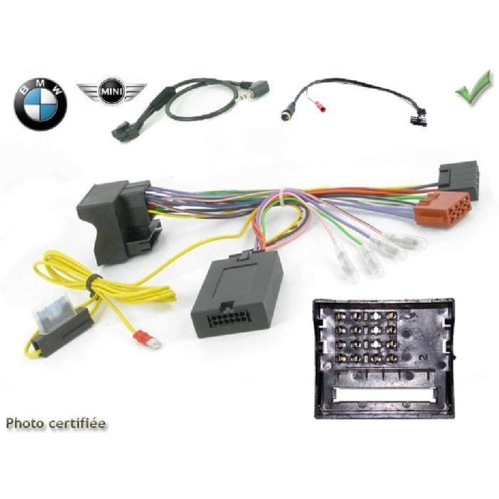 Interface Cde au Volant BMW Serie 1/ 3/ 5/ 6/ 7/Mini/ Z4/ X1 ap01 JVC - ADNAuto - ADN-CAV