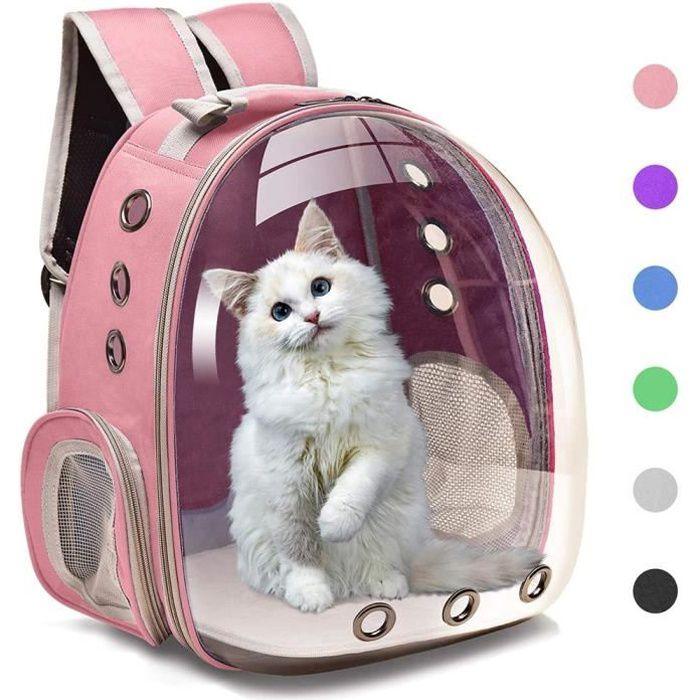 Sac à dos pour chat sac à dos pour chien sac à dos pour chat voyage capsule spatiale cage pour animaux de compagnie transport sac à
