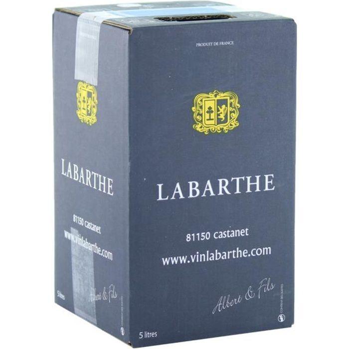 Cubi de Vin Rouge 5 L - AOC Gaillac - Domaine de Labarthe