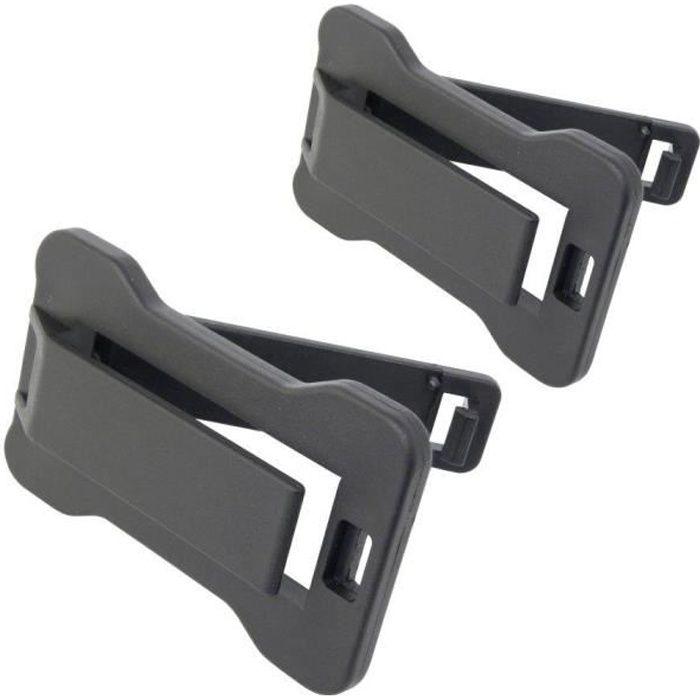 Fixation ceintures 2 pieces