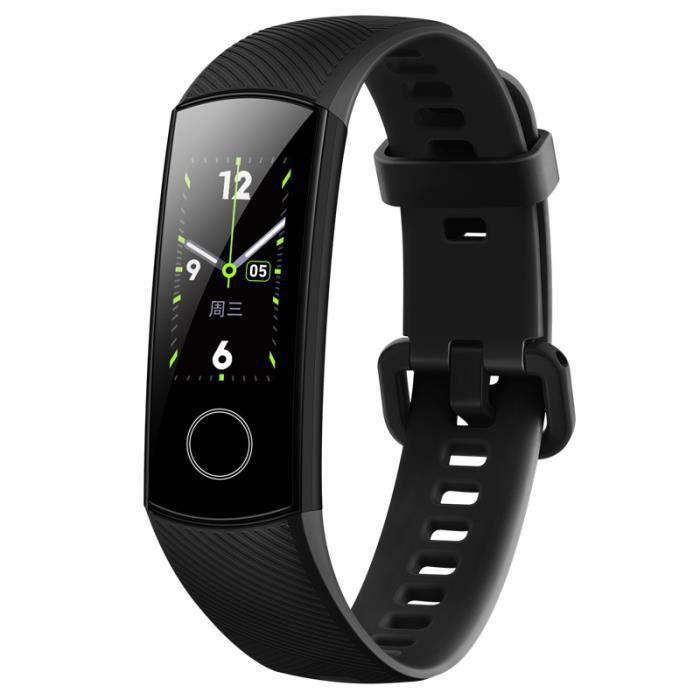 Honor Band 4 -Montre Connectée GPS Homme-Bracelet Imperméable Intelligent-Amoled 0,95--Personal Health Assistant