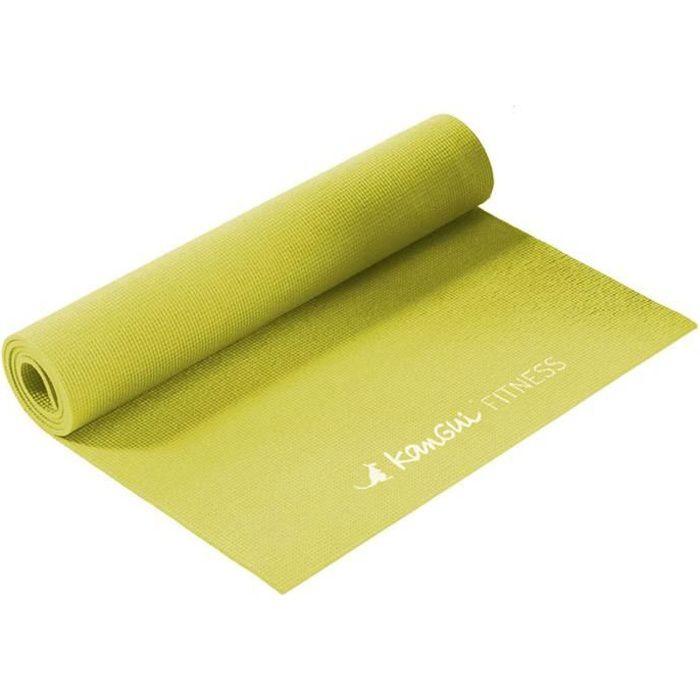 Kangui - Tapis de yoga fitness antidérapant
