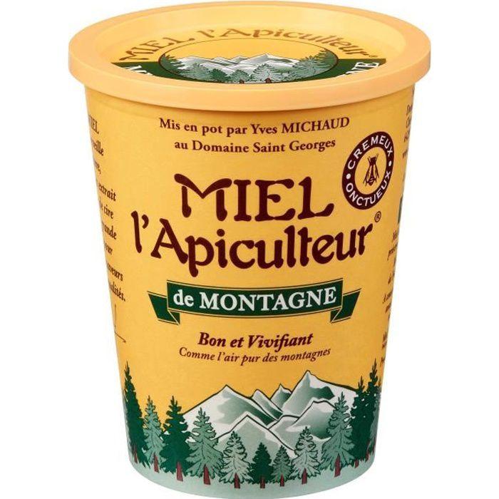 MIEL D'APICULTEUR Miel de montagne crémeux - 500 g