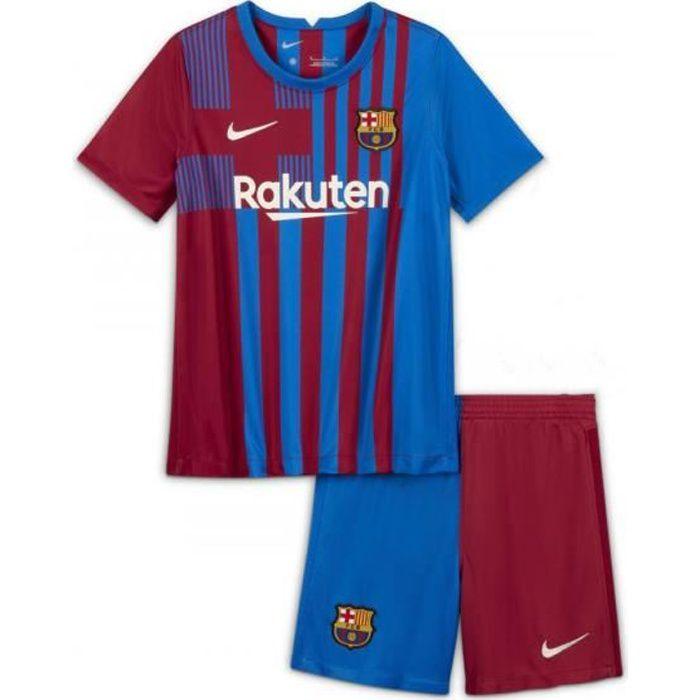 Nouveau Maillot de Foot Barcelones 2021 2022 Barcelonas Barcas Pas Cher pour Enfants Garçon