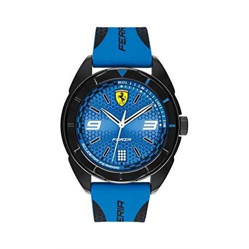 Scuderia Ferrari Mixte Analogique Quartz Montres bracelet avec bracelet en Silicone - 830518 830518