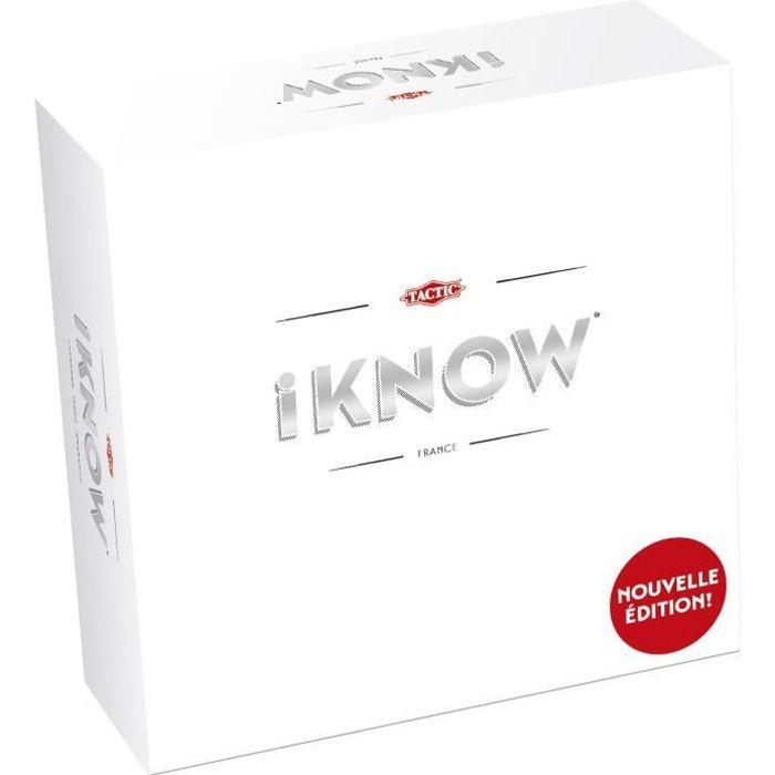 iKNOW nouvelle édition - Jeux de Stratégie - 56249 - TACTIC