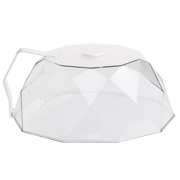 Microwave Oven Oil-proof Cover Reusable Fresh-keeping with Handle CLOCHE MICRO-ONDE