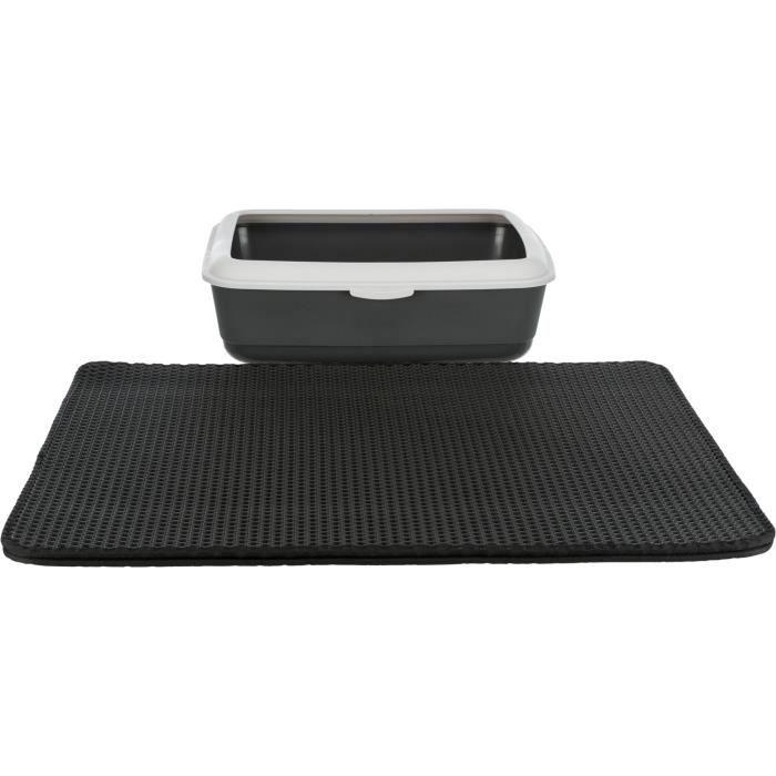 TRIXIE Tamis litière EVA pour bacs à litière 58 × 75 cm - Noir